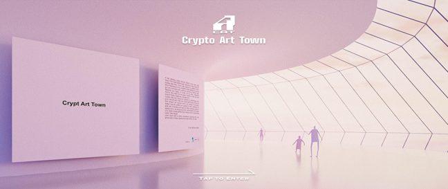 グラコネ、 Crypto Art Town