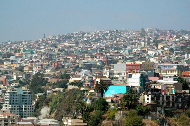 overview of the city