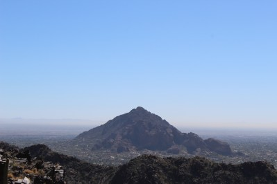 Camelback Mountain, the highest peak in Phoenix