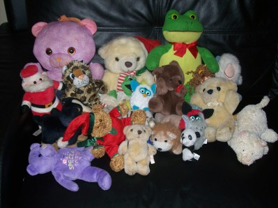 Unwanted Teddies From My Daughters (and there's more) Credit ; 3rdEarGirl