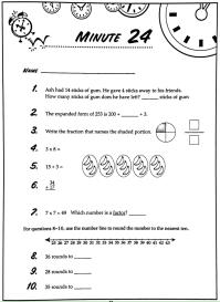 worksheet. Math Minute. Grass Fedjp Worksheet Study Site