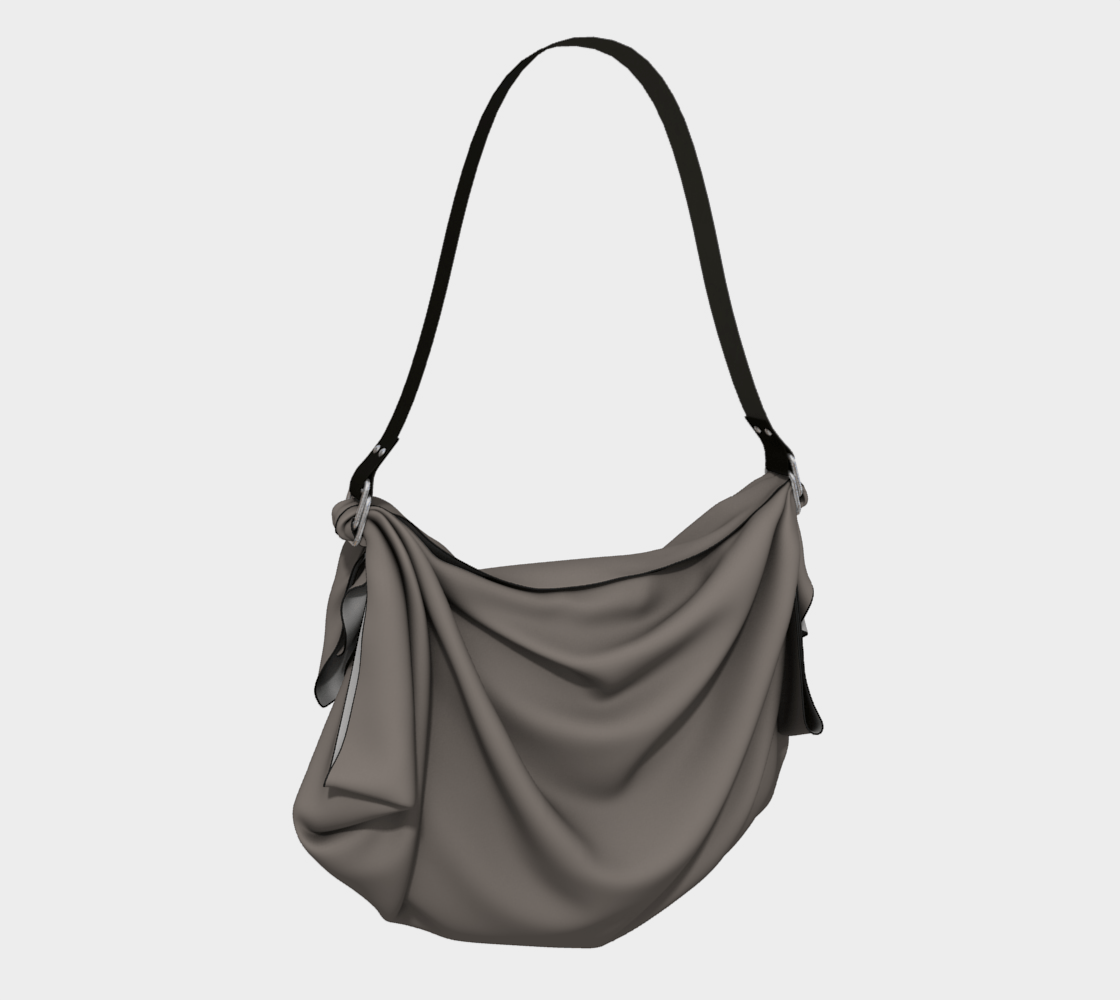 Charcoal Green Origami Tote