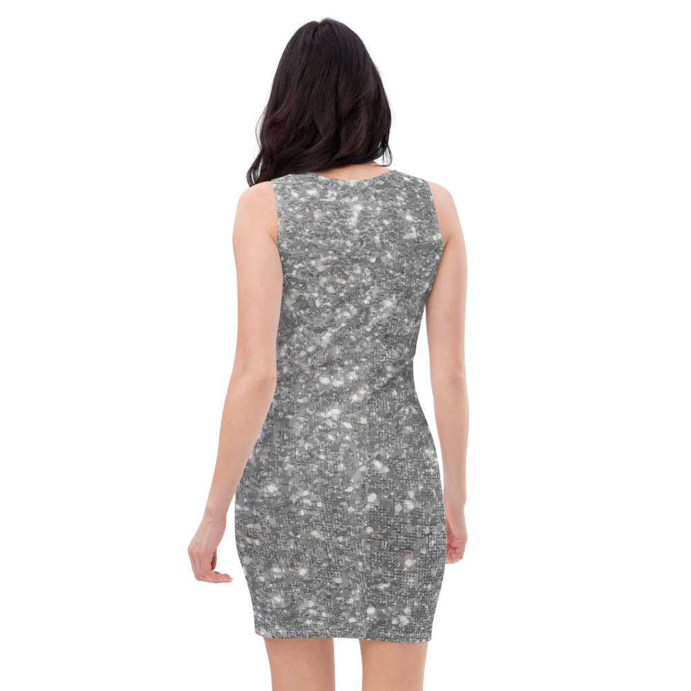 Glitter Dress with Free Shipping by TGC FASHION Bodycon style