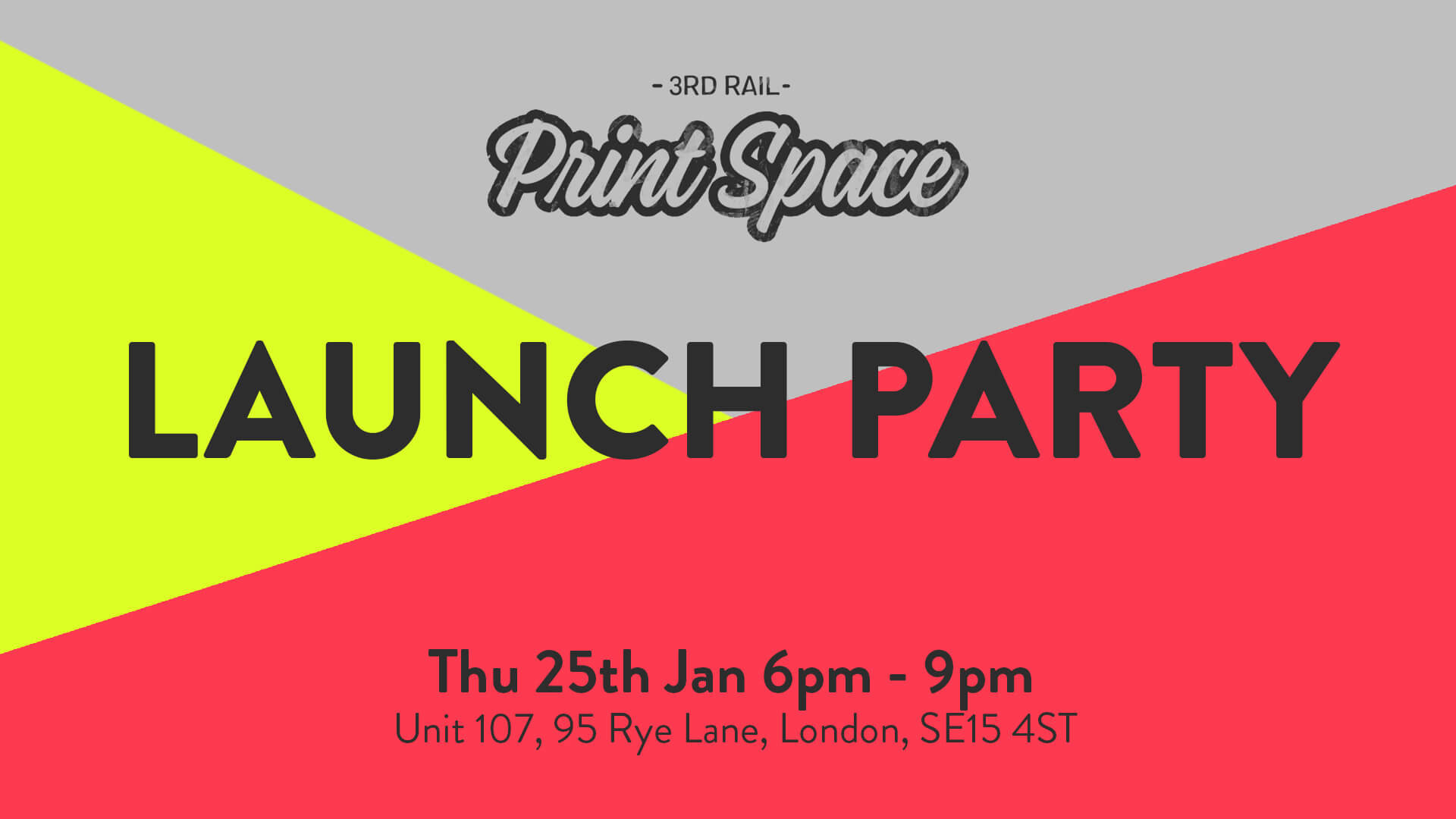 London's Biggest Open Access Screen Printing Studio is Launching