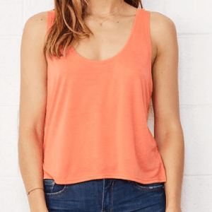 BE096 Bella + Canvas Flowy Boxy Tank