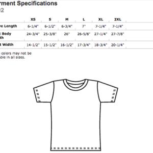 AA003 American Apparel Women's Fine Jersey Short Sleeve T-Shirt