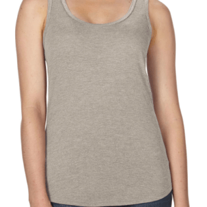AV184 Anvil women's triblend racerback tank