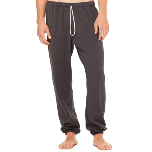 BE110 Bella + Canvas Unisex Fleece Long Scrunch Pant