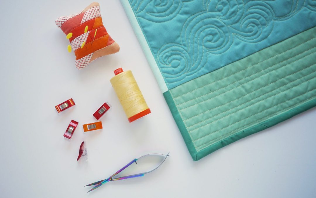 Tutorial: Aligning a Pieced Binding to Your Quilt Top