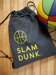 3rd Story Workshop, Cricut Tutorial, Basketball Bag