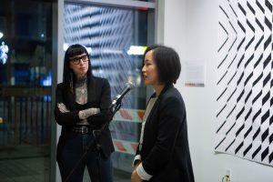 Andrea Tsang Jackson. Facets exhibition with Libs Elliott, DesignTO 2020. Toronto.