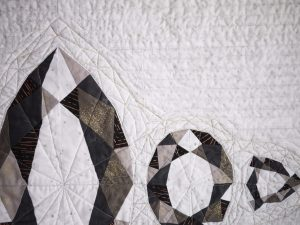 Andrea Tsang Jackson, Facets, Gemstone Quilt, Modern Quilt, 3rd Story Workshop