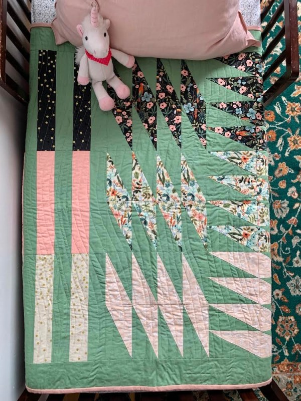 Modern Quilt Pattern, Baby Quilt, 3rd Story Workshop