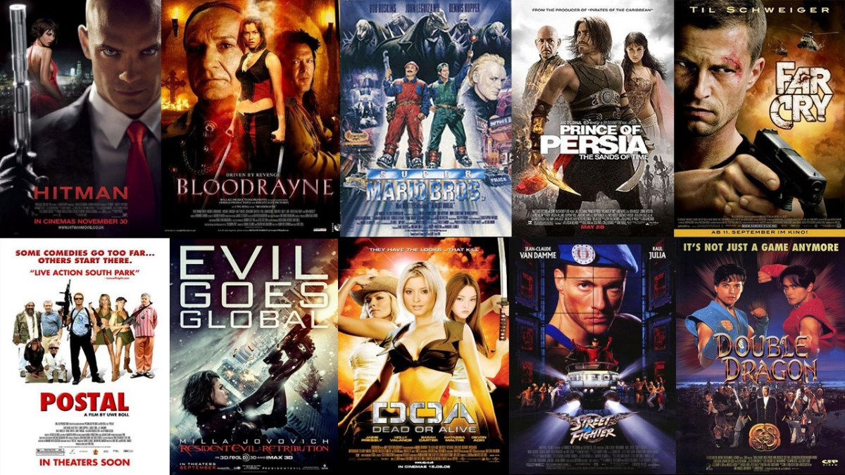 Why We Don T Have Excellent Movies Based On Video Games