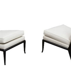 White Leather Slipper Chair Wicker Arm Chairs 3rings A Fit For King Or Queen Larger Pair