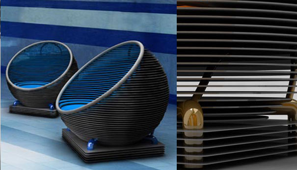 3rings  HiTech Couch by Design Gezunt  3rings