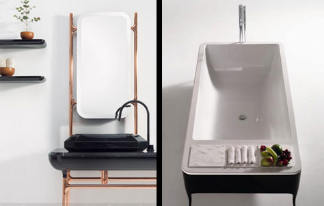 3rings  Hayon Collection and Bisazza Bagno Debut at ISH in Frankfurt  3rings