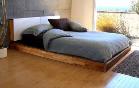 Top Ten Minimalist Platform Beds