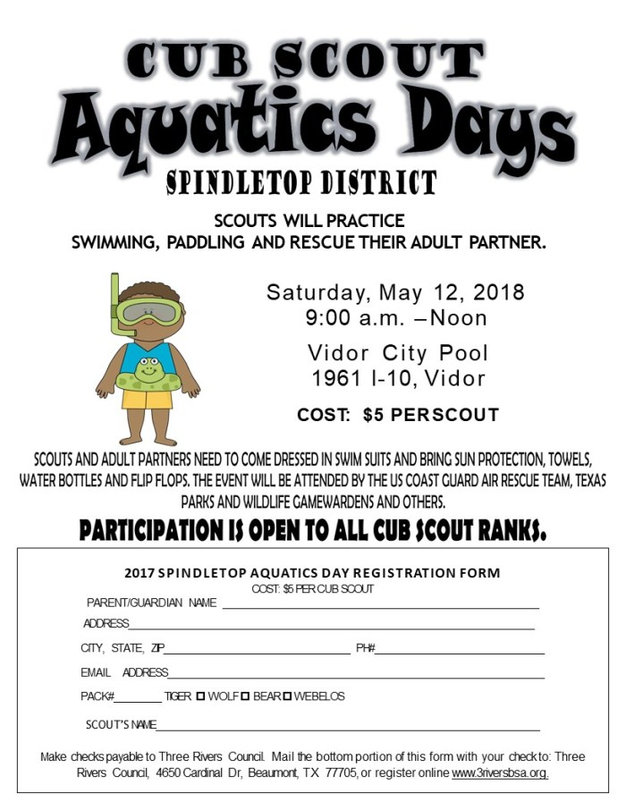 Aquatic Day 2018 Spindletop
