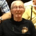 Final Salute To Past Commandant Edwin E. Vogel