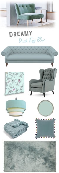 Duck Egg Blue Living Room Ideas | Homegirl London