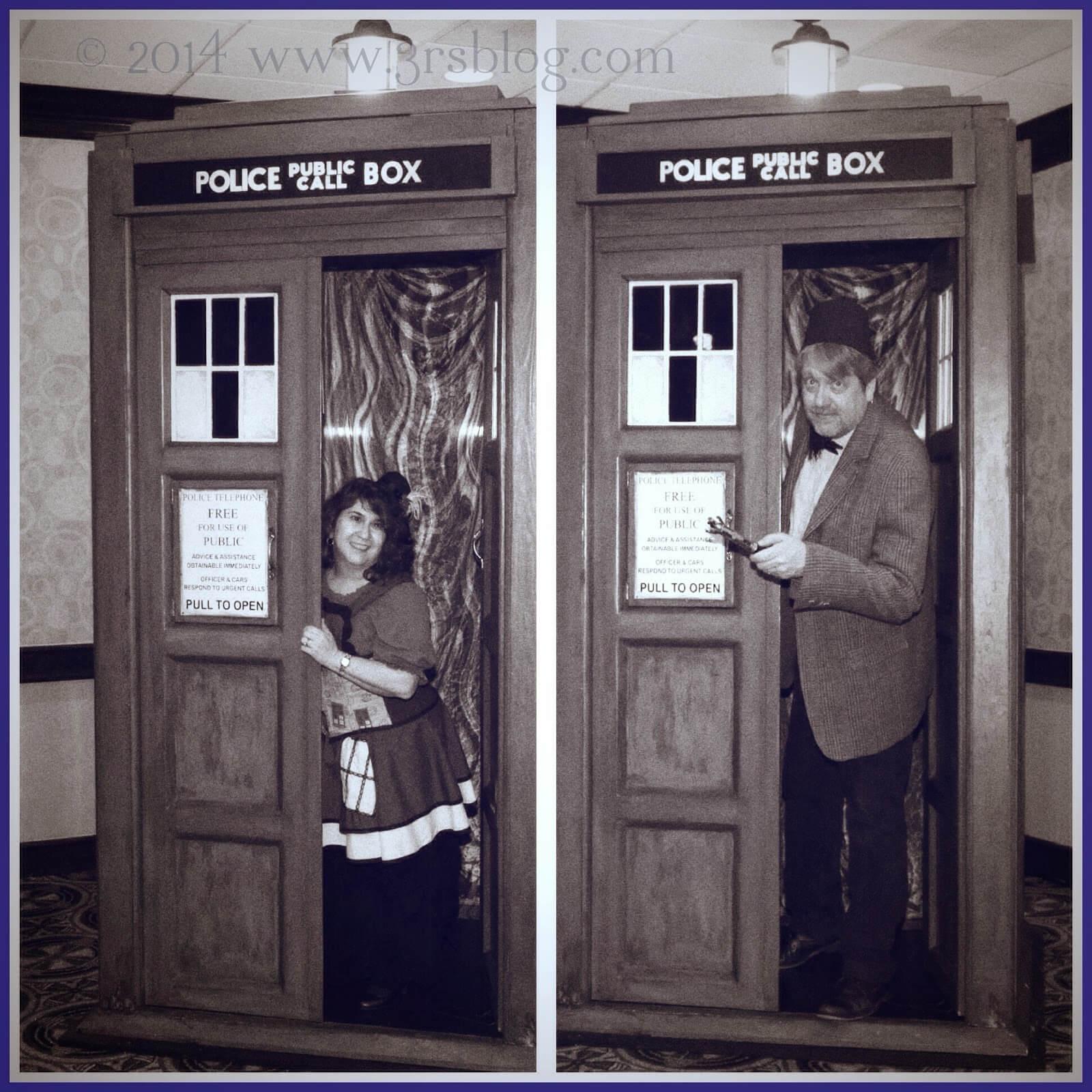 WW: Black & White & A Little (TARDIS) Blue