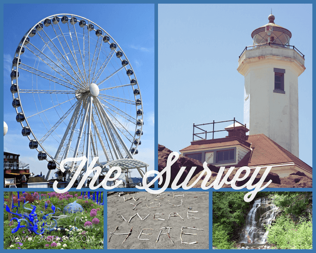 The Survey: Pictures, Prizes, Reading, Linking