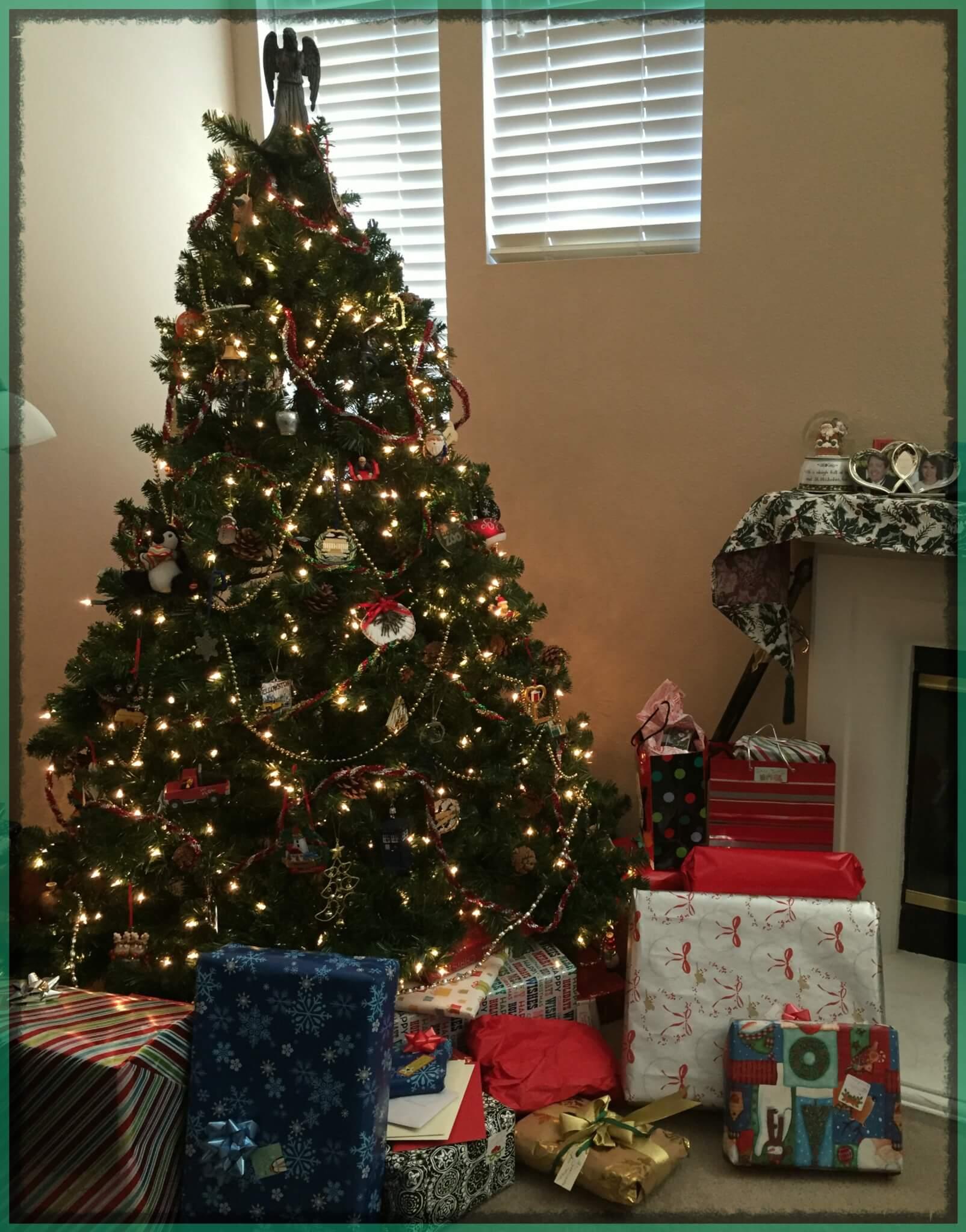 christmas tree at home 2015