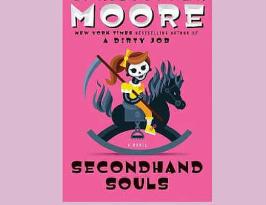 (Audio)Book Talk; SECONDHAND SOULS by Christopher Moore, read by Fisher Stevens