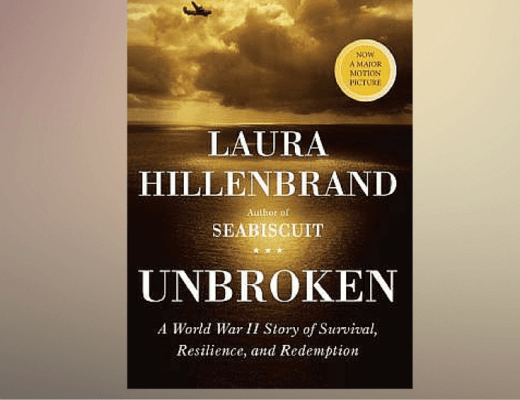 (Audio)Book Talk: UNBROKEN, by Laura Hillenbrand (read by Edward Herrmann)