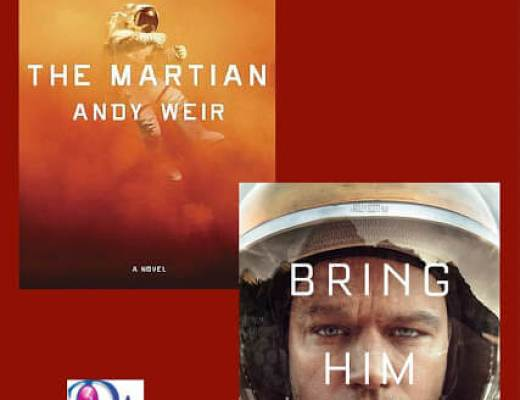 Book to Movie: THE MARTIAN