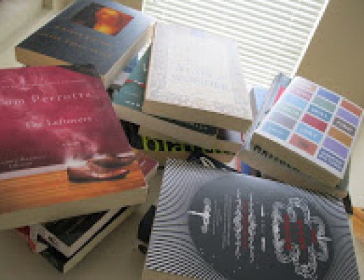 """Sunday Salon: A """"Reading and Weeding"""" Staycation (with a side of rambling)"""