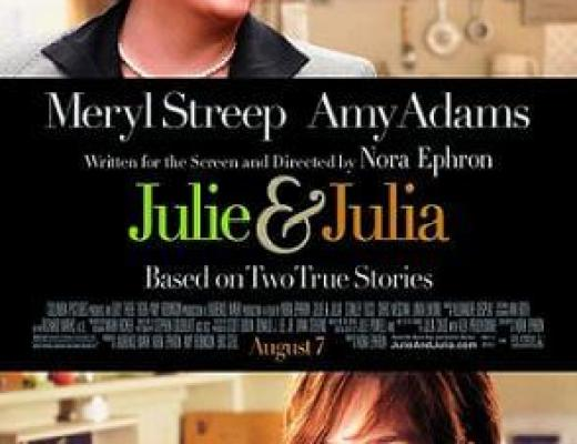 """At the movies, from the book: """"Julie & Julia"""""""