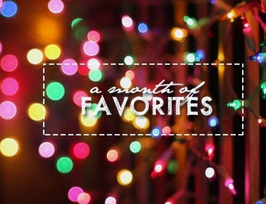 A Month of Favorites: Two for Week 1