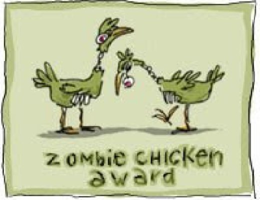 Book Festivals and zombie chickens!
