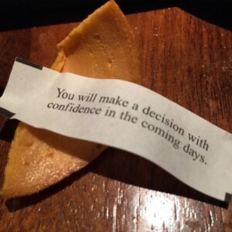 fortune cookie confidence