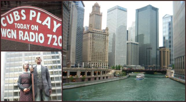 collage downtown Chicago
