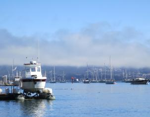 marine layer approaching