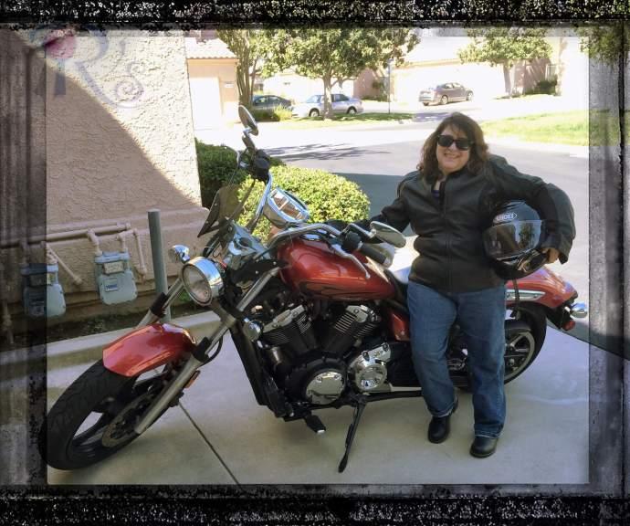 Birthday motorcycle ride