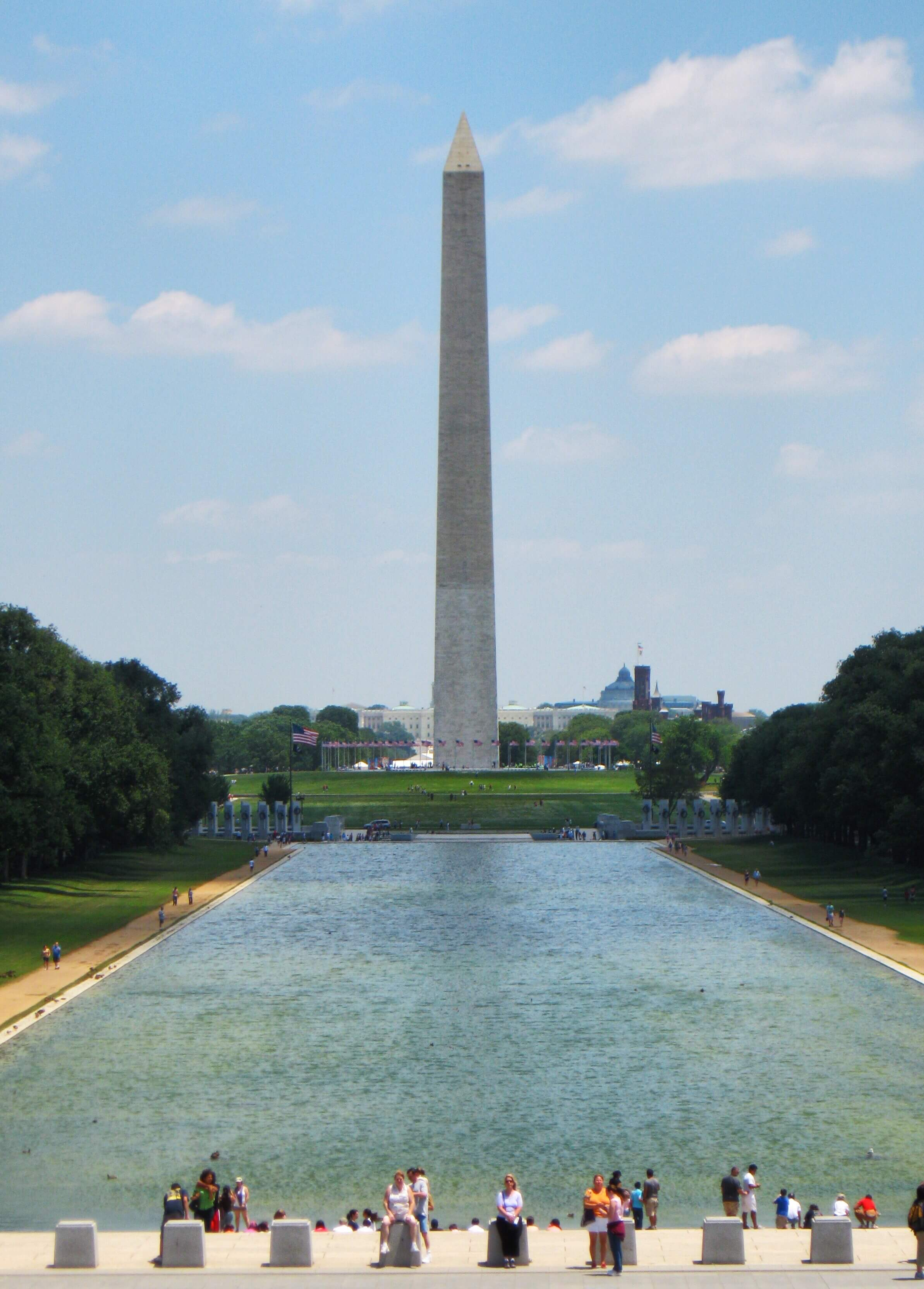 two days after washington monument