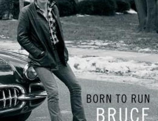 BORN TO RUN by Bruce Springsteen–The Book!