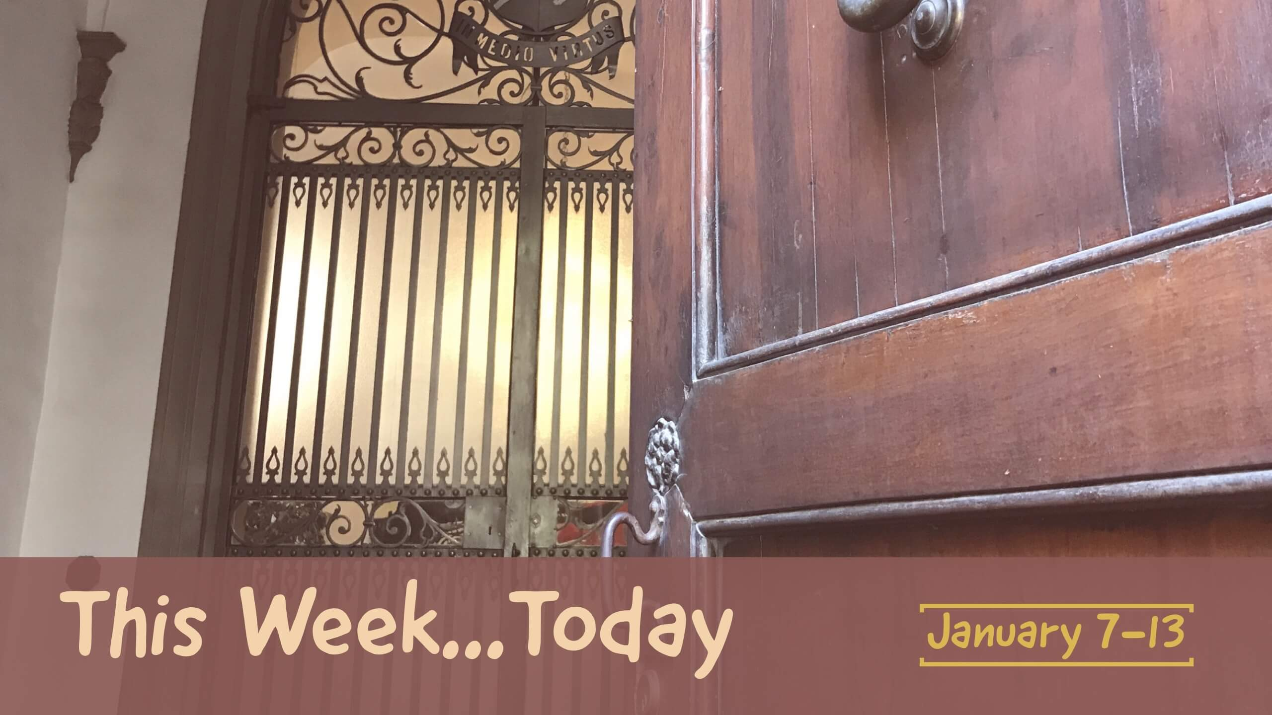 this week today january 7