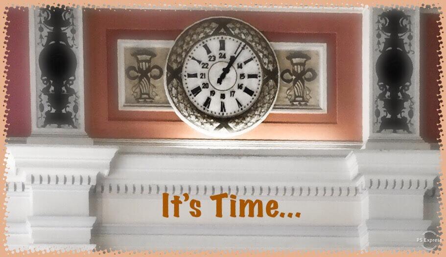 managing time clock face regroup