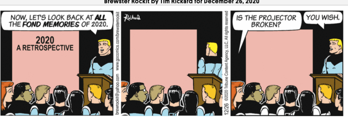 comic strip Brewster Rockiy 12-26-2020