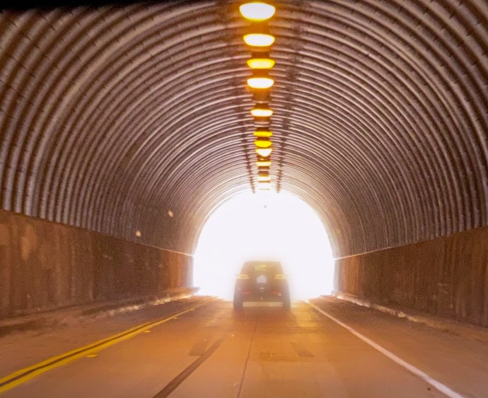 tunnel exit
