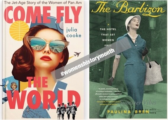 #womenshistorymonth books 2021