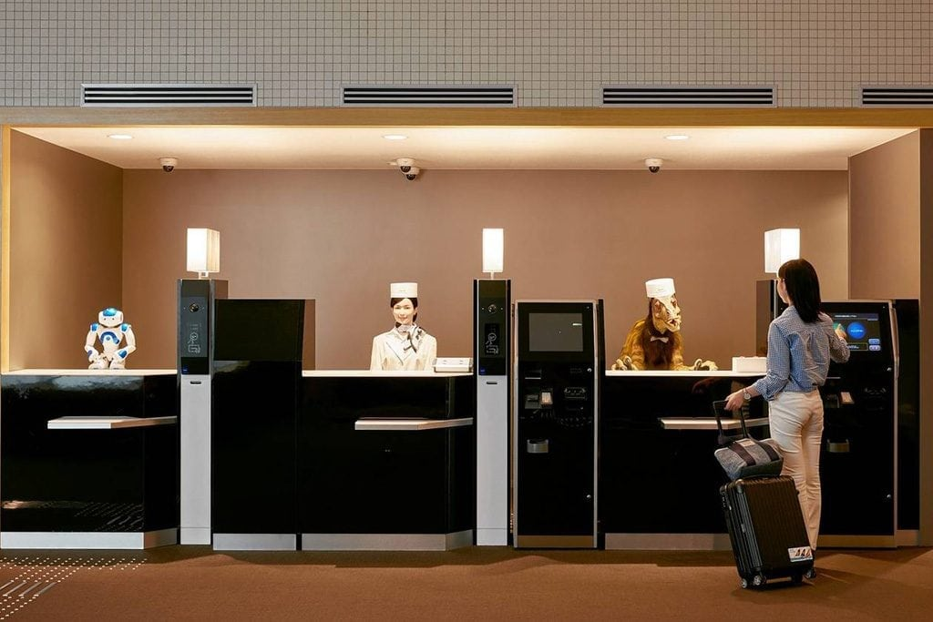 The Evolution of the Hotel Front Desk Why Tech Can Only Go So Far  Skift