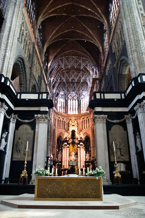 Altar of St Bavo Cathedral Photograph  Fine Art Prints by