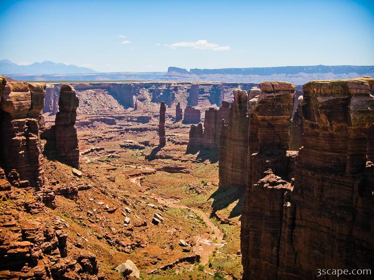 Rock pillars in Canyonlands National Park Photograph