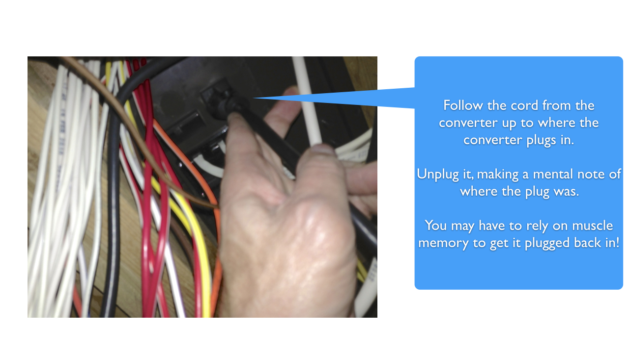 hight resolution of  replacing the rv power converter 016 pull ac plug